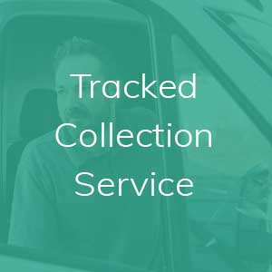 Tracked collection service