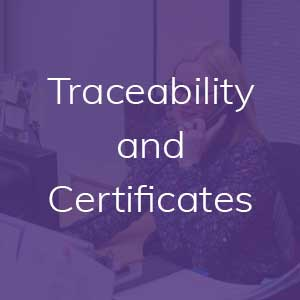 Traceability and Certificates