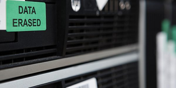 IT recycling and data destruction for business